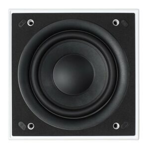 KEF Ci200QSb-THX In-Wall/Ceiling 8″ Subwoofer