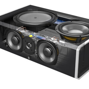 Definitive Technology CS9080 5.25″ 3-Way Center Channel w/8″ 300-Watt Powered Woofer