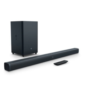 JBL Bar 2.1 Channel Soundbar with Wireless Subwoofer-System